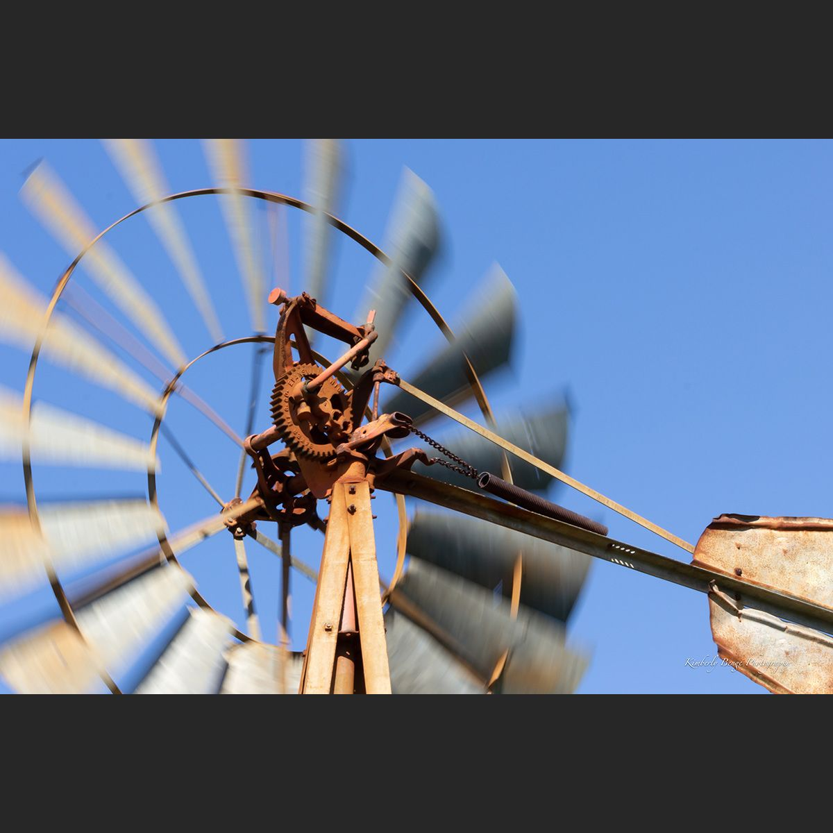 Winds a Turning windmill art